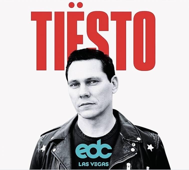 Tiësto live at EDC Las Vegas 2019