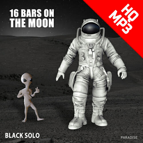 Black Solo - 16 Bars on the Moon